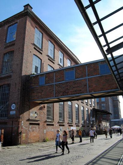 Kreativzentrum Baumwollspinnerei Leipzig in Sachsen