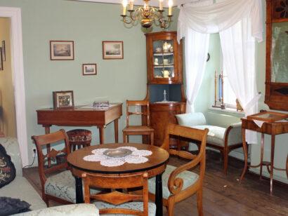 Biedermeierzimmer Museum Göschenhaus Grimma