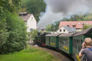 Schmalspurbahn Lößnitzgrundbahn Radebeul Moritzburg Elbland