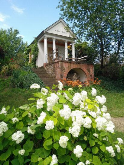 Freundschaftspavillon Garten Museum Göschenhaus Grimma