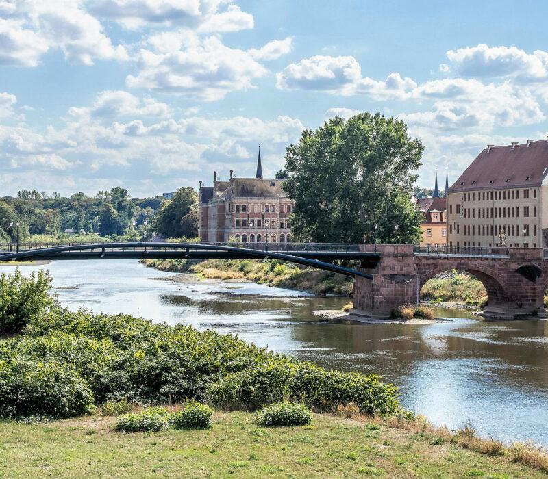 Grimma an der Mulde in Sachsen