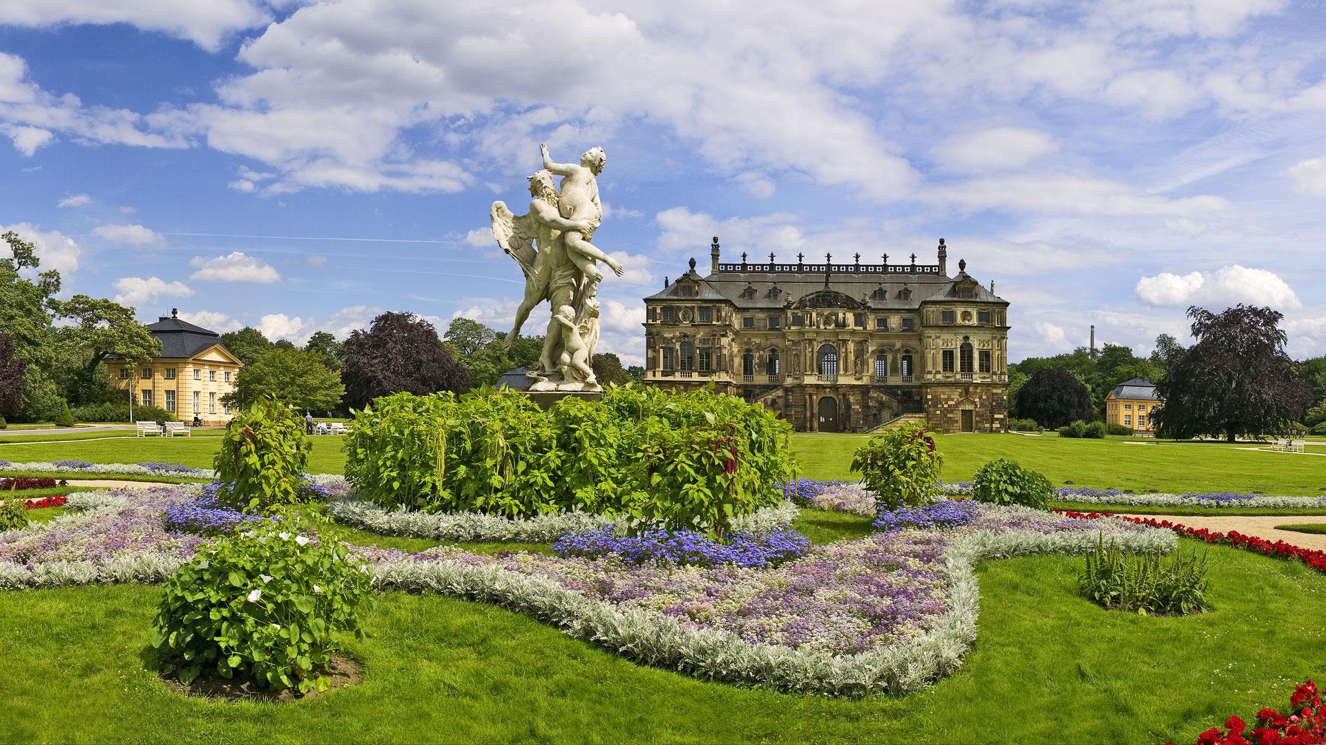 Palais im Großen Garten in Dresden