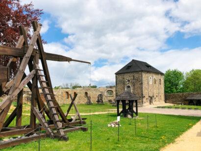 Die Staufer bauten die Burg Eger Anfang des 12. Jahrhunderts zur Kaiserpfalz um.