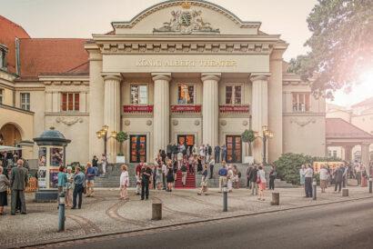 Als kulturelles Zentrum Bad Elsters zieht das König Albert Theater nicht nur Kurgäste an.