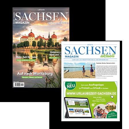 Aktuelle Ausgabe vom Sachsen Magazin bestellen