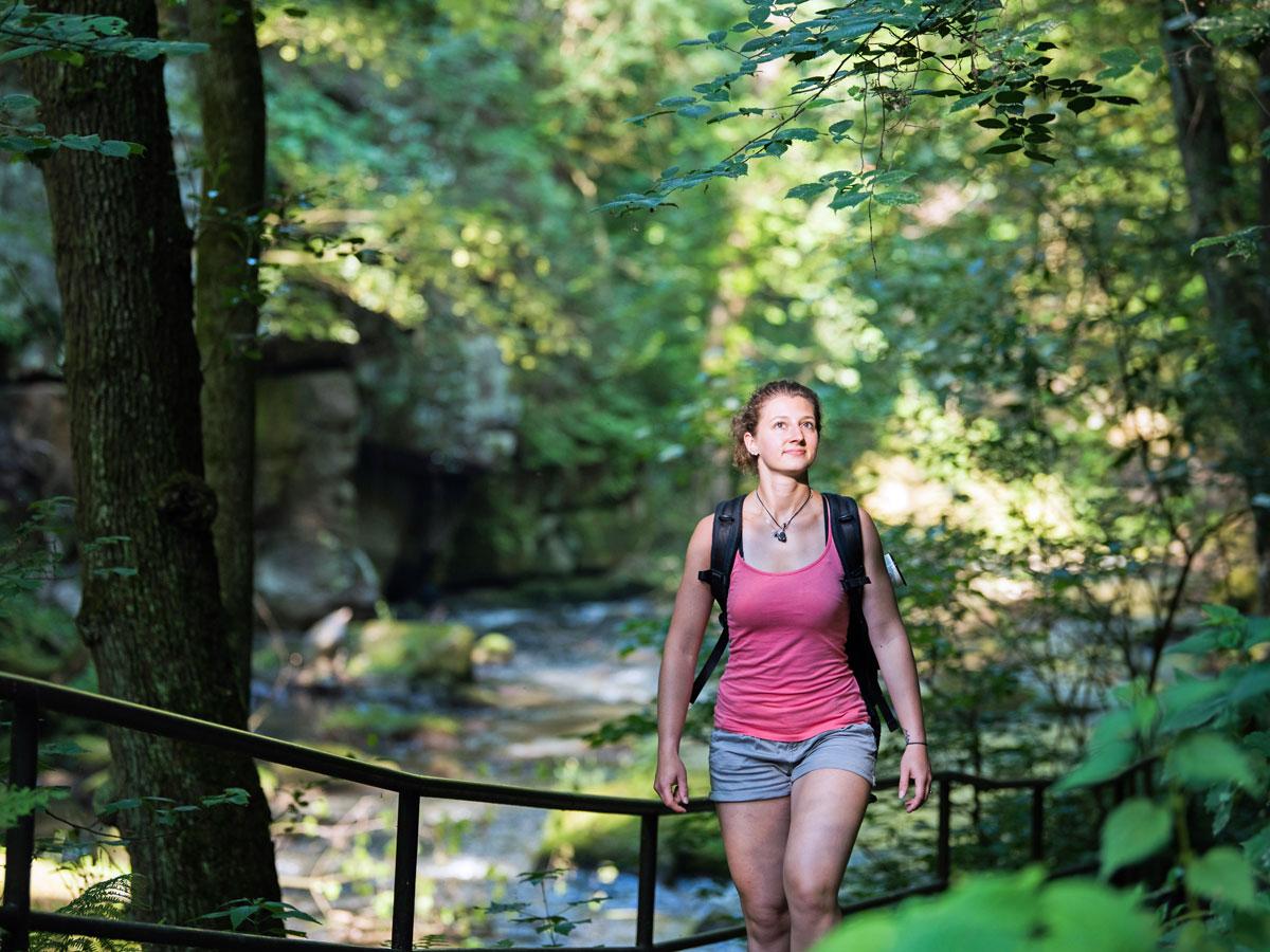 Wandern Sächsische Schweiz Malerweg
