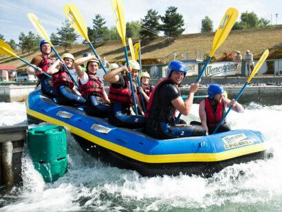 Wildwasser-Rafting Kanupark Markkleeberger See