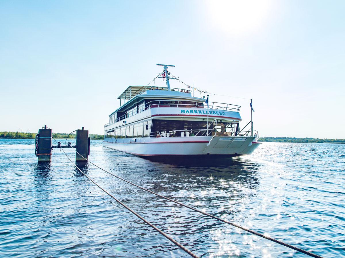 Schiff Markkleeberger See