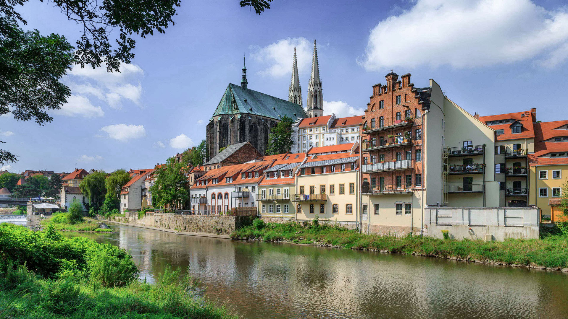 Görlitz an der Neiße in Sachsen