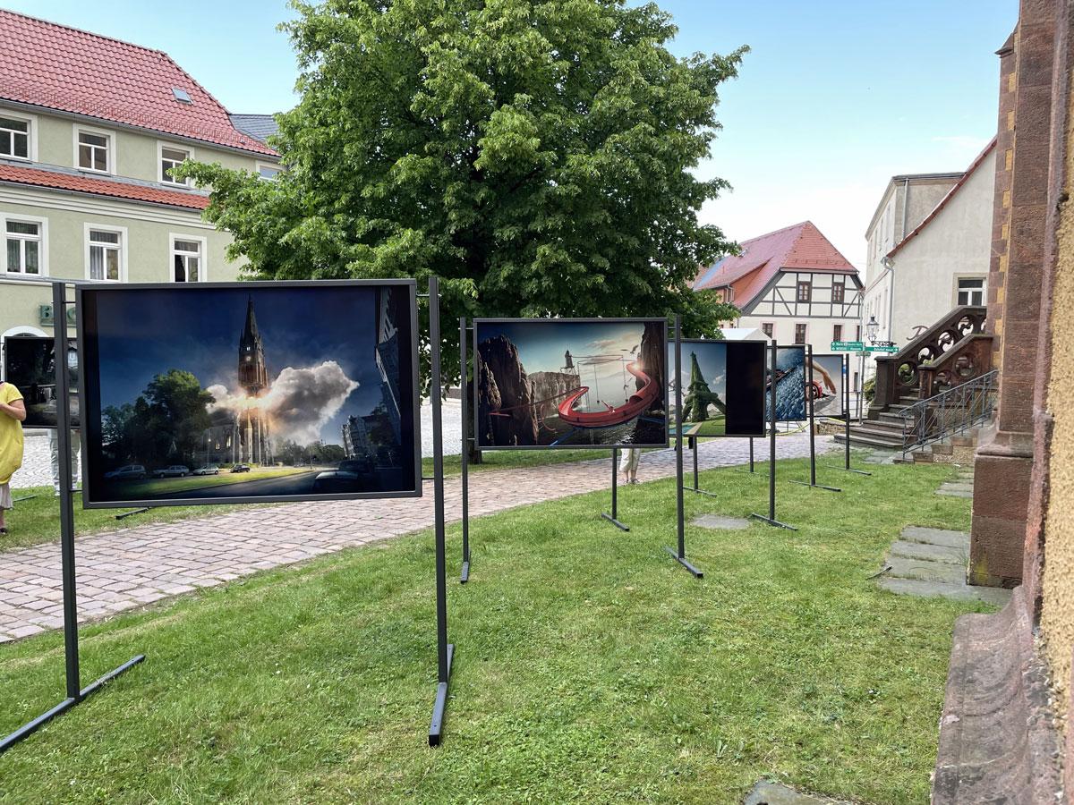 """Ausstellung """"Perspektiva"""" Oederan Erzgebirge"""