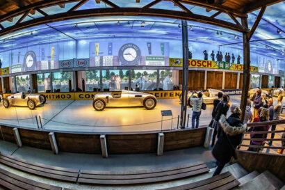Zwickaus automobiler Seite widmet sich das August Horch Museum.