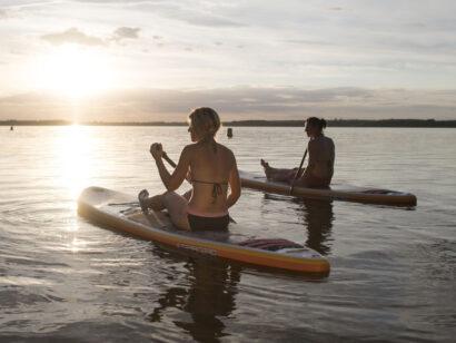 Von Action bis Seele baumeln lassen: Die Angebote auf dem Wasser und rundherum  im Lausitzer Seenlandsind vielfältig.