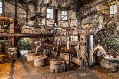 Ab dem 17. Jahrhundert wurde im Frohnauer Hammer Werkzeuge für Bergbau und Landwirtschaft geschmiedet.