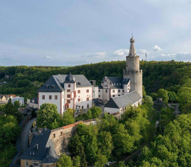 Osterburg in Weida, Vogtland